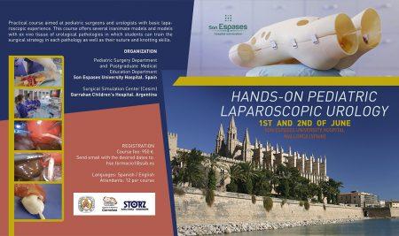 Espanha sedia cursos de hands-on em Urologia Pediátrica Laparoscópica e Cirurgia Minimamente Invasiva Neonatal