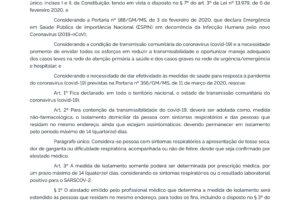 PORTARIA Nº 454, DE 20 DE MARÇO DE 2020 – PORTARIA Nº 454, DE 20 DE MARÇO DE 2020 – DOU – Imprensa Nacional-1