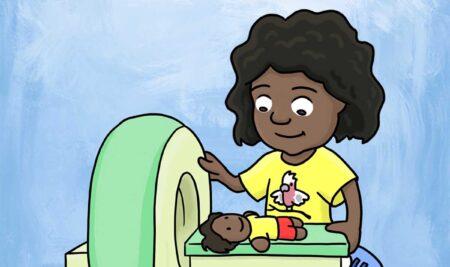 Confira livro sobre exames de imagem ilustrado para crianças