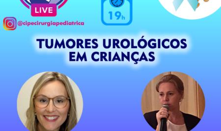 Lives do Novembrinho Azul: quinta-feira, às 19h, tema abordado será Tumores Urológicos em Crianças