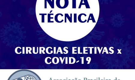 Nota técnica: Cirurgias Eletivas x Covid-19