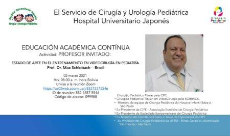 Associado titular da CIPE é palestrante convidado em reunião científica online do Hospital Universitário Japonês, da Bolívia